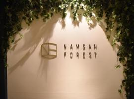 Namsan Forest in Myeongdong