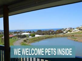 PetLet 5: Beautiful Sea & Lake, Encounter Bay (Waitpinga yakınında)