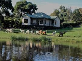 Raynella Alpaca Farmstay, Gruyere (Wandin Yallock yakınında)
