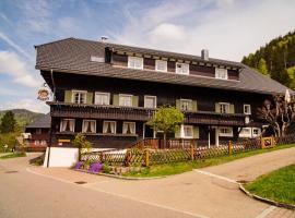 Gästehaus Erika, Menzenschwand (Menzenschwand-Hinterdorf yakınında)