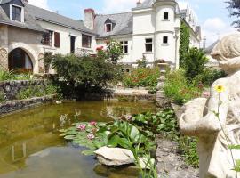 Le Manoir de la Baldette, Gennes (рядом с городом Les Rosiers)