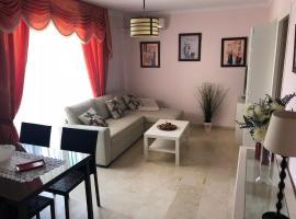 Apartamento al lado de la playa, Fuengirola (Santa Fe de los Boliches yakınında)
