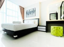 Best Price 1BR Brooklyn Apartment near IKEA Alam Sutera by Travelio, Kandangsampi (рядом с городом Kampungklapa)