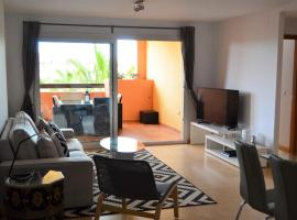 Aparment overlooking Mar Menor Golf Course, Las Casicas