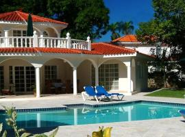 3BR Villa with VIP Access - All Inclusive Program with Alcohol Included., San Felipe de Puerto Plata (Gurapito yakınında)