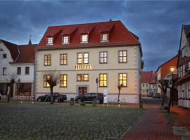 Hotel Am Markt, Oebisfelde (Kusey yakınında)