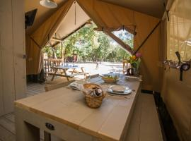 Glamping in Camping Park Soline