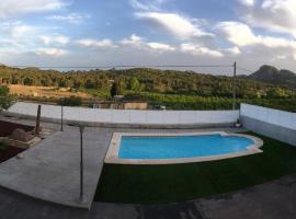 Chalet independiente con piscina, Albalat de Taronchers