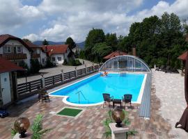 Villa Plitvicka Sedra, Грабоваце (рядом с городом Ириновац)