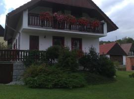 Rekreační Chalupa, Benešov nad Černou (Dluhoště yakınında)