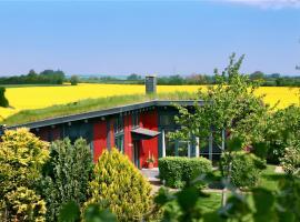 "Ferienhaus ""Dat Rode Huus"" Hellert Gelting, Gelting (Stangheck yakınında)"