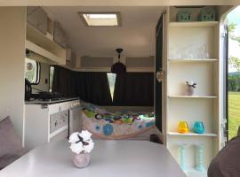 Romantic caravan for 2, Šluknov