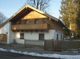 Ferienhaus Füchslein, Bayerisch Gmain (Grossgmain yakınında)