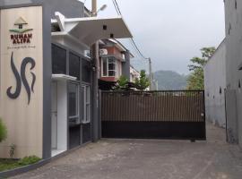 Rumah Alifa, Bojong 1 (рядом с городом Karangtengah)