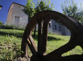 La vecchia posta B. & B., Lesignano de' Bagni (Torrechiara yakınında)