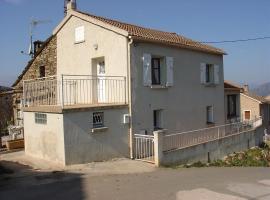 Maison Mitoyenne Cristiani, Valle-di-Rostino (рядом с городом Giocatojo)