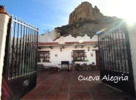 cueva alegria, Guadix (Alquife yakınında)