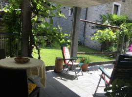 Casa Evelina, Maggia (Moghegno yakınında)
