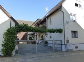 Ferienwohnung Wendt, Wersau (Brensbach yakınında)