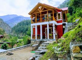 Offbeat Abodes - Tirthan Valley, Banjār