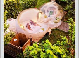 Bubble Luxury Emotion, Borgo Ticino