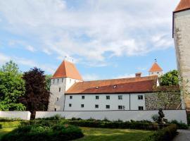Gästehaus Mälzerei auf Schloss Neuburg am Inn, Neuburg am Inn (Wernstein am Inn yakınında)