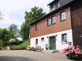 Ferienwohnung May, Ehrenberg (Hohnstein yakınında)