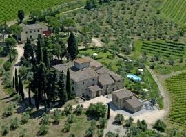 Tenuta Villa Barberino, San Casciano in Val di Pesa (Montefiridolfi yakınında)