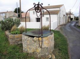 la maison blanche de sommiers 3***, Saujon (рядом с городом Saint-Romain-de-Benet)