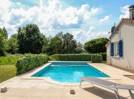 Villa Dive met zwembad, Les Forges (рядом с городом Lavausseau)