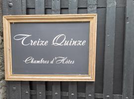 Treize Quinze, Château-Renault