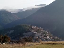 La TERRANGA, Jonchères (рядом с городом Luc-en-Diois)