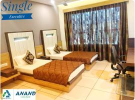 Hotel Anand Corner, Anand (рядом с городом Chaklāsi)