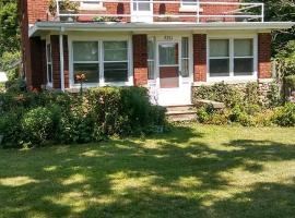 Historic, 2 story brick house, large fenced in yard, Niles