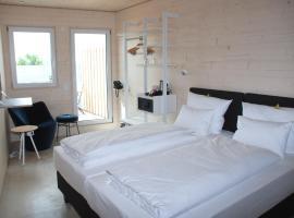 Hotel schlafzimmer, Dinkelsbühl (Fichtenau yakınında)