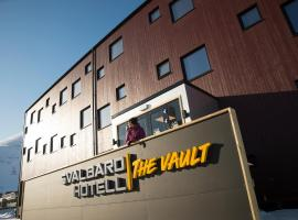 Svalbard Hotell | The Vault, Longyearbyen