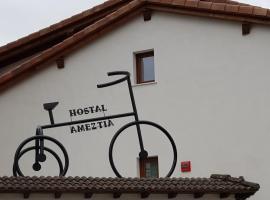 Hostal Ameztia, Doneztebe (рядом с городом Oiz)