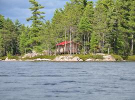 Fly-in Sinclair Lake Cabin, Port Loring