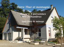 Entre Thur et montagne, Willer-sur-Thur (рядом с городом Altenbach)