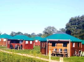 Camping Parc de la Brenne, Lignac (рядом с городом Chalais)