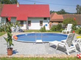 Three-Bedroom Holiday Home in Tourov, Tourov (Bohunice yakınında)