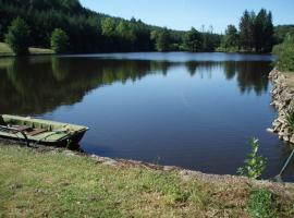 Swan Lake, Montcessaux (рядом с городом Saint-Hilaire-les-Places)