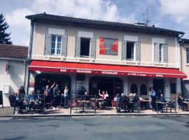 Hotel Du Champ De Foire, Saint-Aulaye (рядом с городом Les Essards)