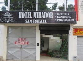 Hotel Mirador San Rafael, Сибундой