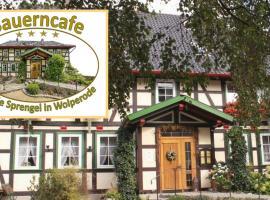 Bauerncafe Sprengel, Wolperode (Bad Gandersheim yakınında)