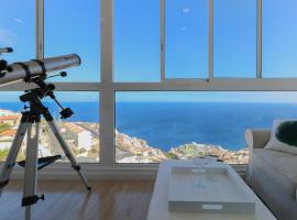 Tabaiba Ocean View Apartment, Santa Cruz de Tenerife (El Tablero yakınında)