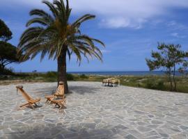 Villa de luxe sur la plage, en Haute-Corse, Taglio-Isolaccio (рядом с городом Talasani)