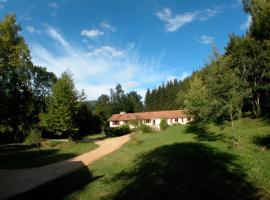 Aux gites du Rasteille, Fougax-et-Barrineuf (рядом с городом Bélesta)