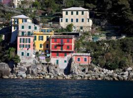 La Casa Del Pescatore, San Rocco (Portofino Vetta yakınında)