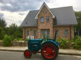 Kleine Auszeit Schaalsee, Neuenkirchen (Kneese Dorf yakınında)